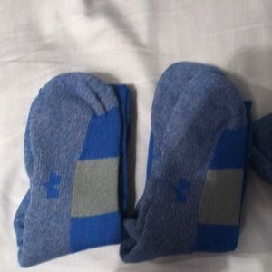 Blue Under armour baseball socks